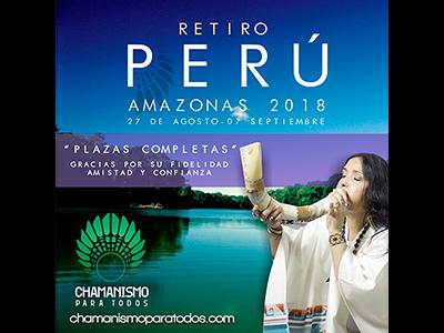 Plaza completas Retiro Perú Amazonas 2018
