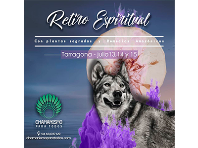 Retiro espiritual en Tarragona 13, 14 y 15 de julio