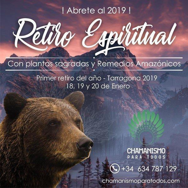 Retiro Espiritual Enero 2019 Chamanismo Para Todos