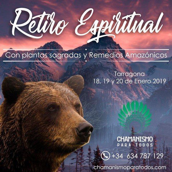 Retiro Espiritual Enero 2019 Chamanismo Para Todos_ c