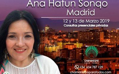 Consultas personalizadas privadas Madrid 12 y 13 de marzo de 2019